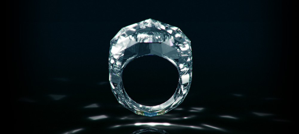 Shawish The Worl`s First Diamond Ring